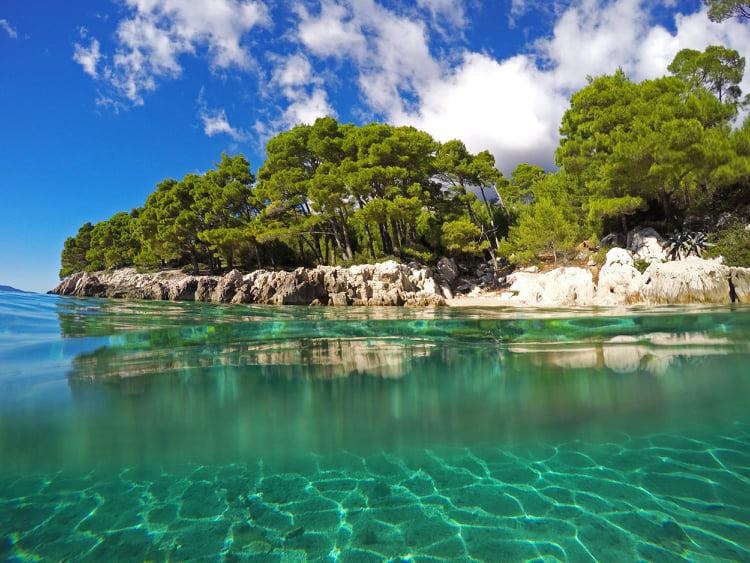 Best beaches to avoid crowds on Makarska Riviera