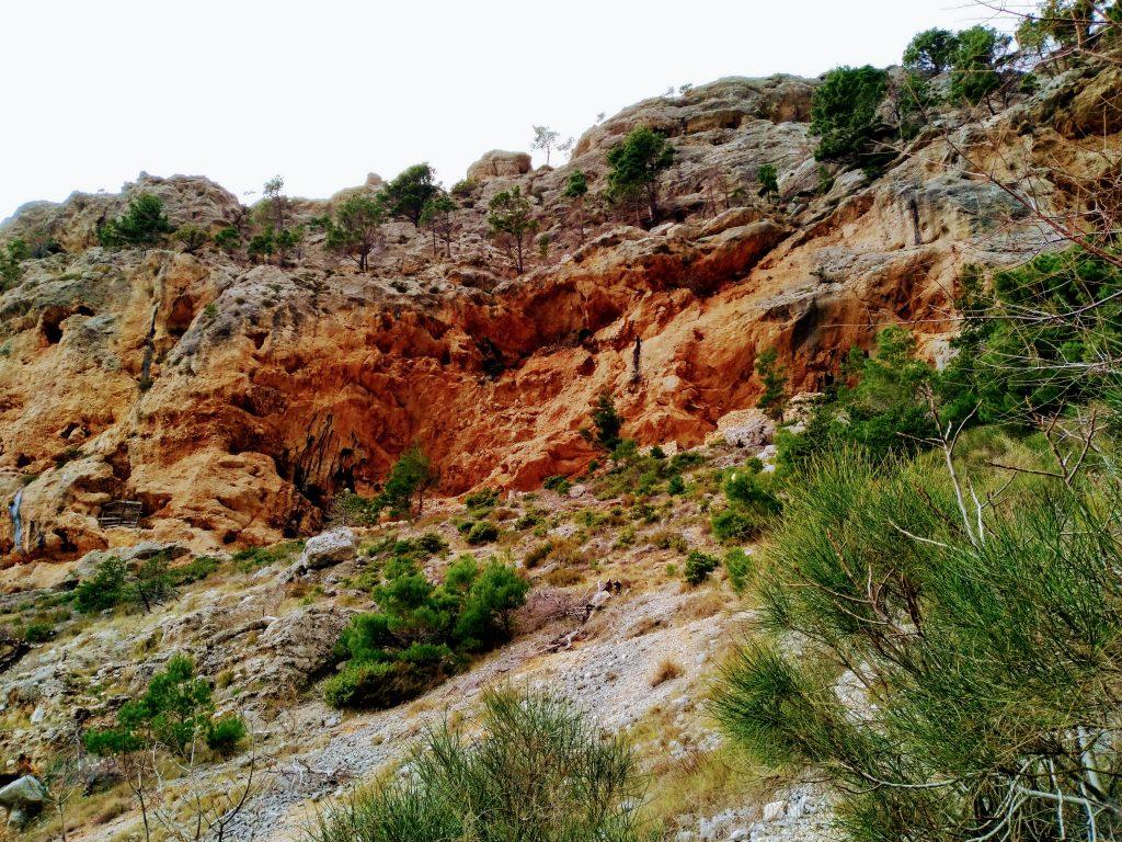 Red rocks on Biokovo